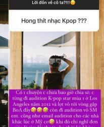 Tóc Tiên lần đầu phá lệ chia sẻ về việc từng thi audition Kpop, tự tìm cơ hội tại Mỹ