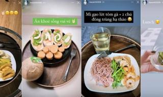 Học hỏi chế độ ăn giữ dáng của sao Việt để hè này tự tin diện đồ gợi cảm